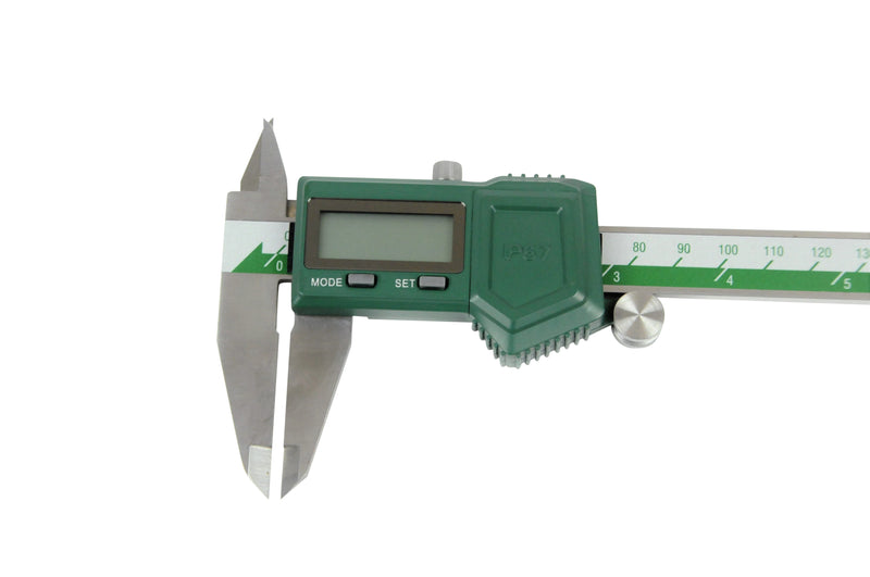 insize 1118-200B digital caliper top