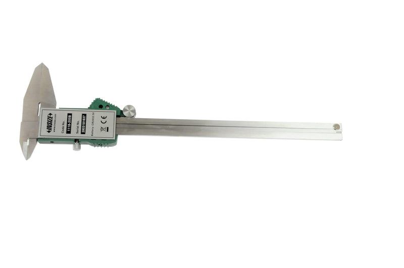insize 1118-200B digital caliper back