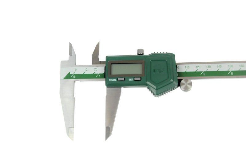 COOLANT PROOF DIGITAL CALIPER - INSIZE 1118-300B 0-300mm / 0-12""
