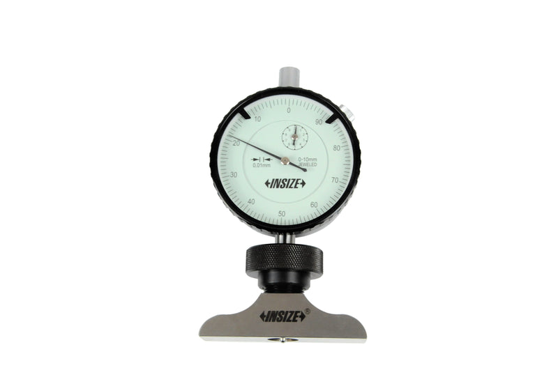 Insize 2341-101A<Br> 0 - 10Mm Dial Depth Gauge