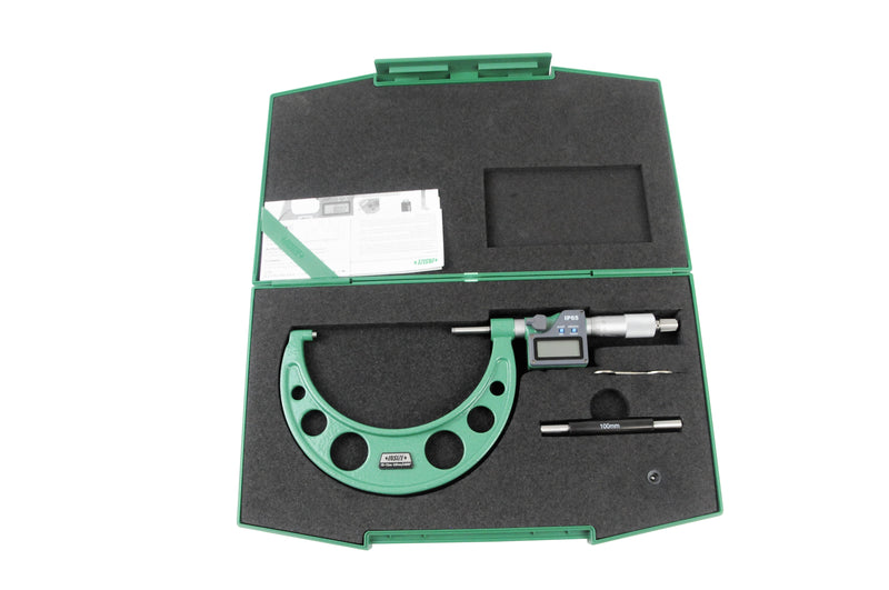 DIGITAL OUTSIDE MICROMETER - Insize 3101-125A 100-125mm / 4-5""