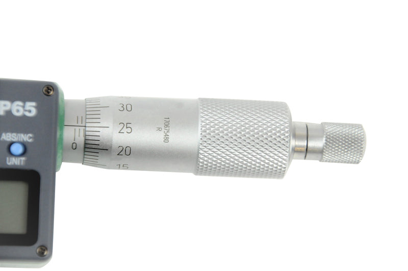 DIGITAL OUTSIDE MICROMETER - INSIZE 3108-25A 0-25mm