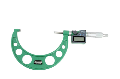 Insize 3108-125A <Br>  100 - 125Mm Metric Digital Outside Micrometer (Ip54),