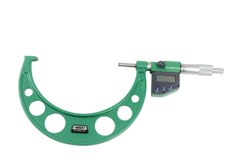 Insize 3108-150A <Br>  125 -  150Mm Metric Digital Outside Micrometer (Ip54),