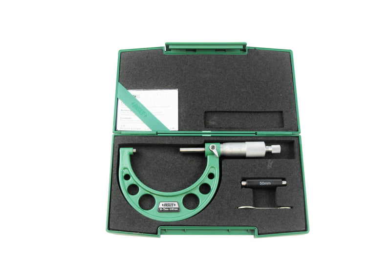 OUTSIDE MICROMETER - Insize 3210-75A 25-75mm