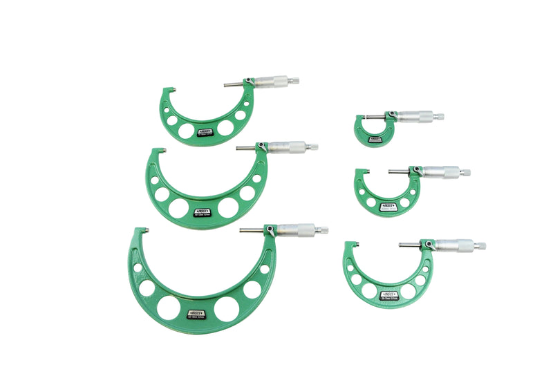 OUTSIDE MICROMETER SET - Insize 3203-1506A 0-150mm