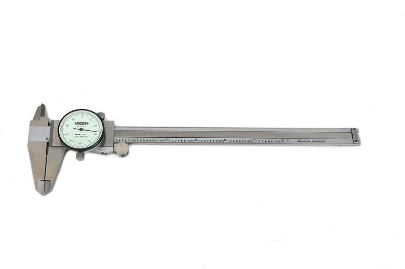 "Insize 1311-8<Br> 0 - 8"" Dial Caliper (Imperial Only)"