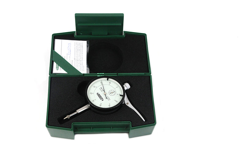 Insize 2329-10<Br> 10Mm Range Dial Indicator With Lifting Lever