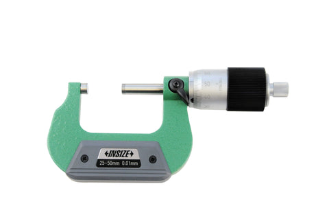 Insize 3208-50B <Br> 25 - 50Mm,  Quick Feeding Outside Micrometer