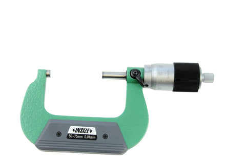 Insize 3208-75B <Br> 50 - 75Mm, Quick Feeding Outside Micrometer