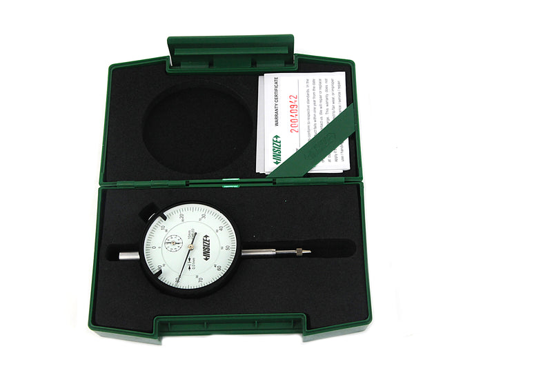 DIAL INDICATOR - INSIZE 2308-10FA 10mm