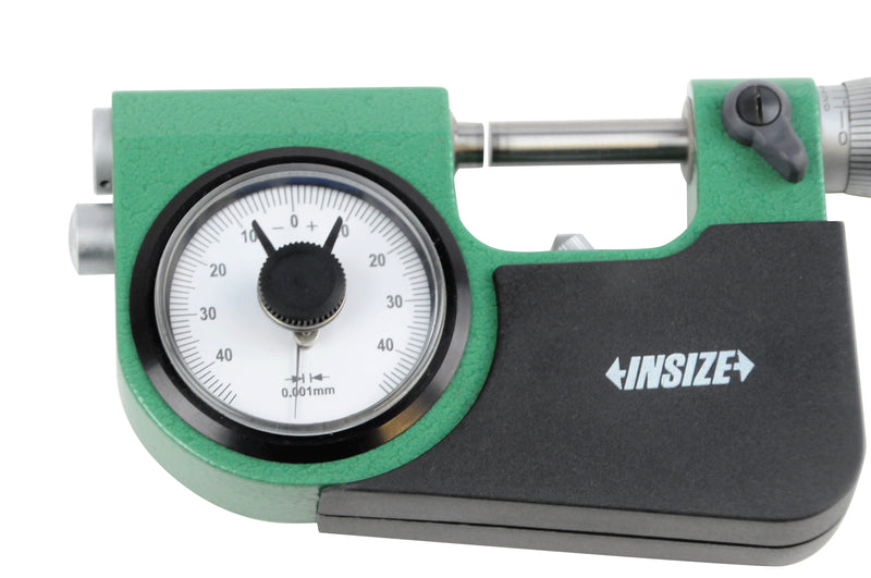 INDICATING MICROMETER - INSIZE 3332-25 0-25mm