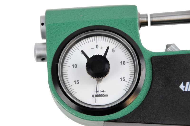 INDICATING MICROMETER - INSIZE 3332-1 0-1""