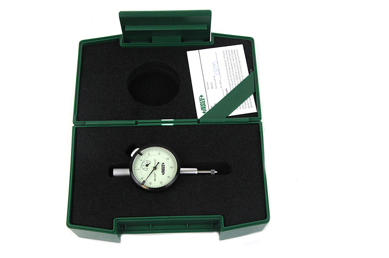 COMPACT DIAL INDICATOR - INSIZE 2304-0255 0.25""
