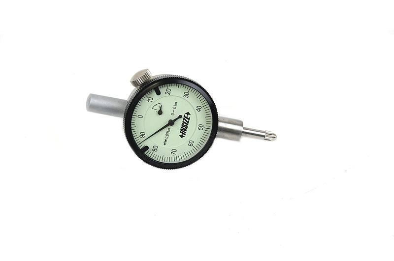 COMPACT DIAL INDICATOR - INSIZE 2304-01 0.1""