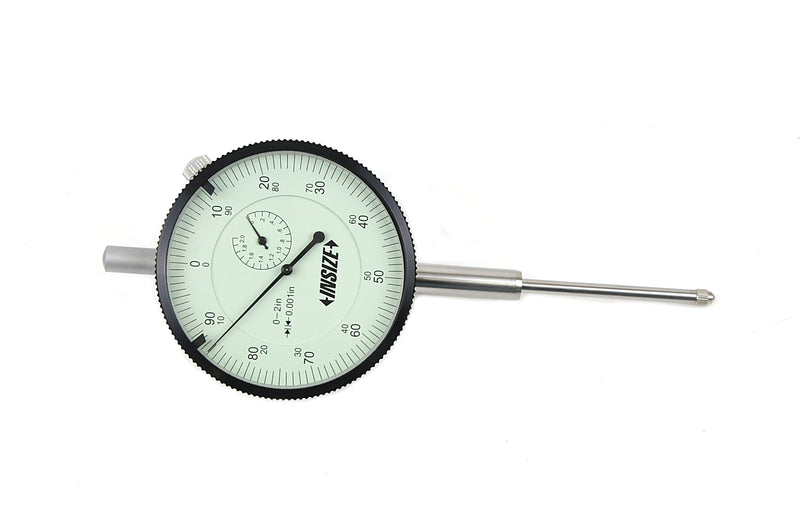 "LARGE FACE DIAL INDICATOR | 0 - 2"" x 0.001"" 