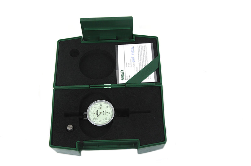 LARGE RANGE DIAL TEST INDICATOR | 0 - 1.6mm x 0.01mm | INSIZE 2386-16