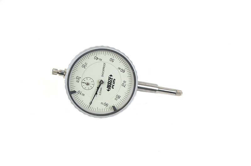 SHOCKPROOF DIAL INDICATOR - Insize 2883-10 10mm