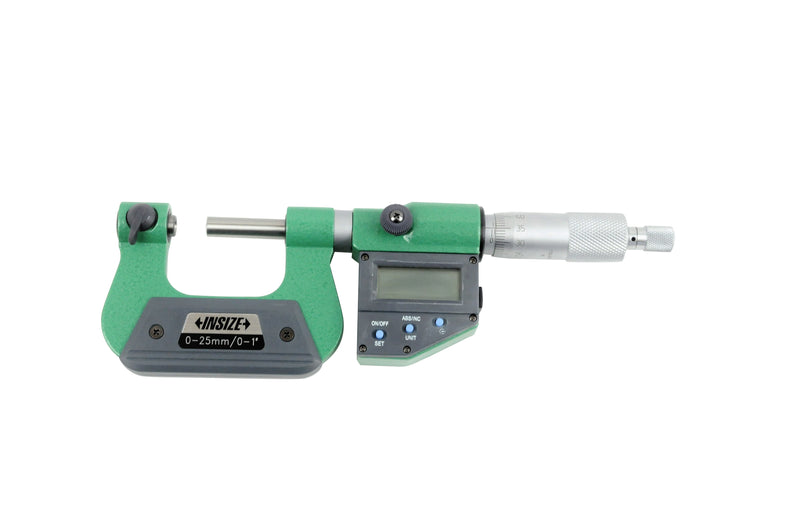 DIGITAL SCREW THREAD MICROMETER - INSIZE 3581-25A 0-25mm / 0-1""