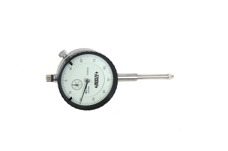 REVERSE READING DIAL INDICATOR | 0 - 30mm x 0.01mm | INSIZE 2802-30