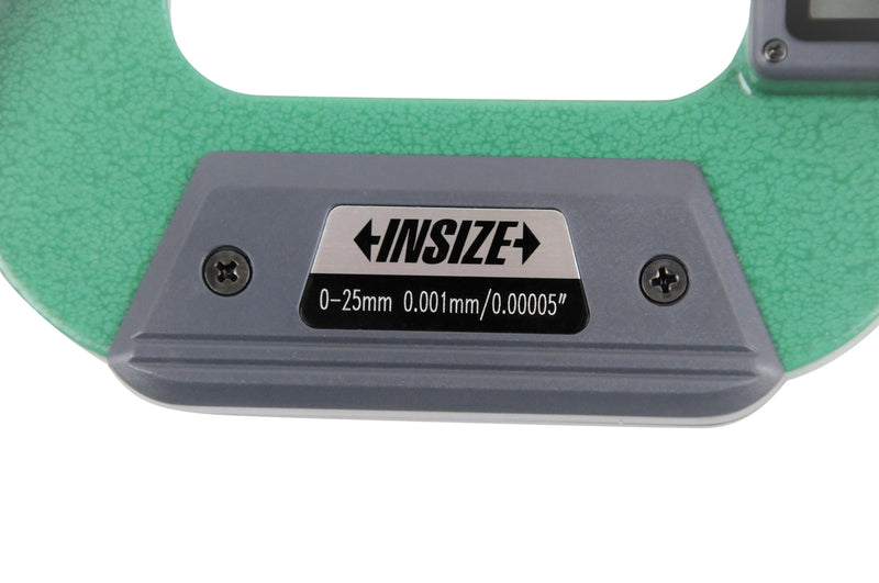 DIGITAL POINT MICROMETER - INSIZE 3530-25A 0-25mm / 0-1""