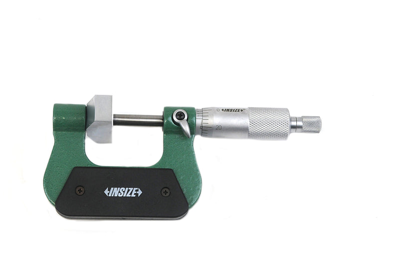LARGE ANVIL MICROMETER - INSIZE 3234-1 0-1""