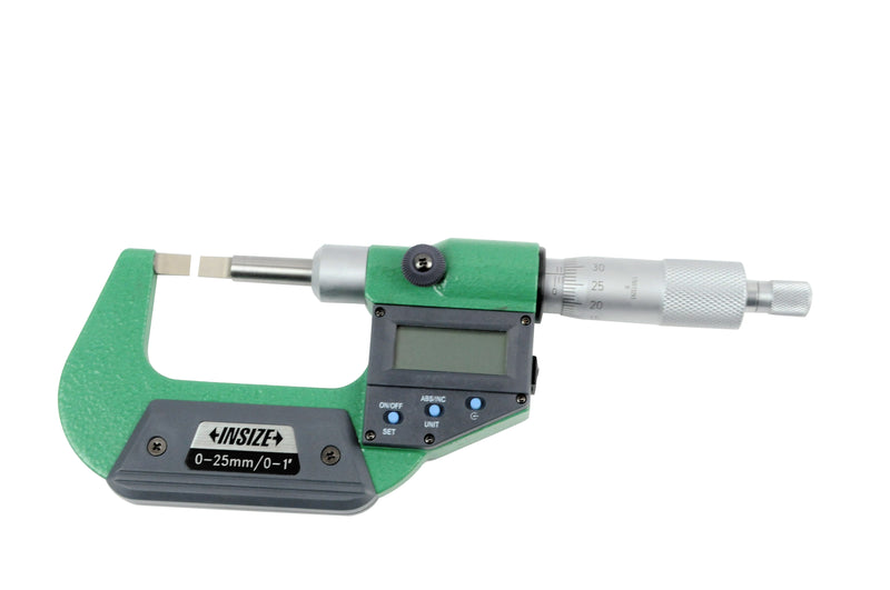 DIGITAL BLADE MICROMETER - INSIZE 3532-25A 0-25mm / 0-1""