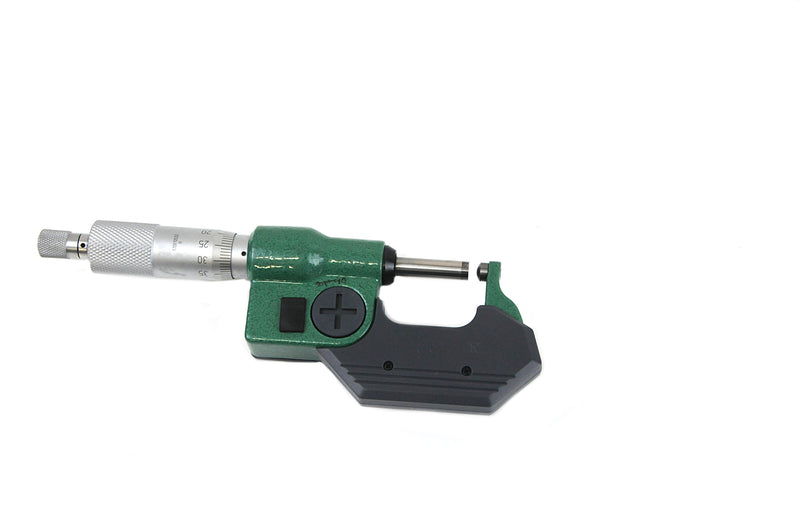 DIGITAL SPHERICAL ANVIL TUBE MICROMETER - INSIZE 3560-25A 0-25mm / 0-1""