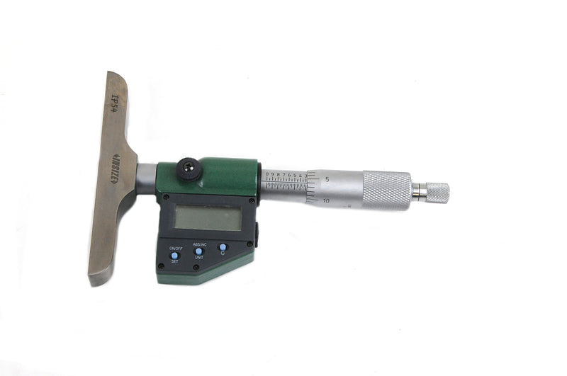 DIGITAL DEPTH MICROMETER - INSIZE 3540-150E 0-150mm / 0-6""