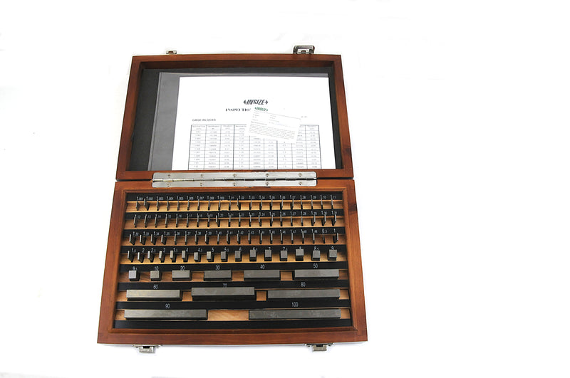 GAUGE BLOCK SET | 87 Pieces | INSIZE 4100-287