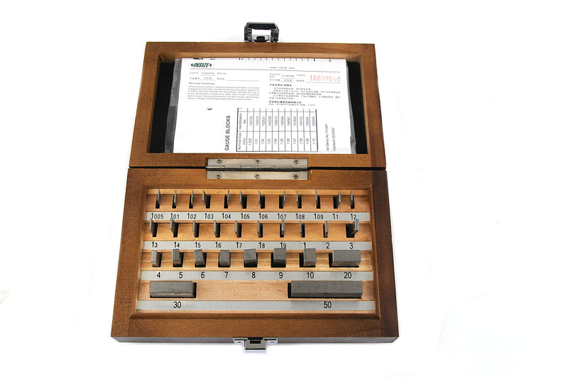 GAUGE BLOCK SET | 32 Pieces | INSIZE 4100-232
