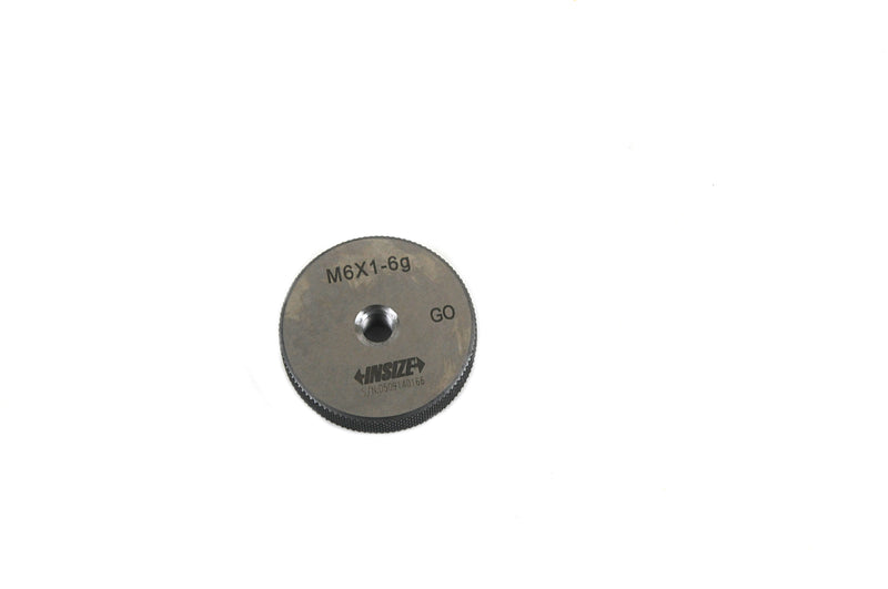 THREAD RING GAUGE - INSIZE 4120-6 M6X1.0
