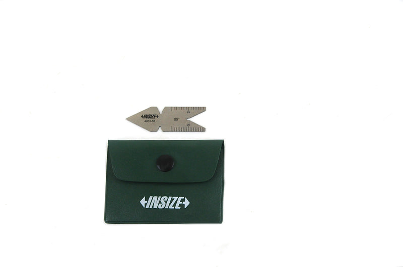 THREAD ANGLE GAUGE | Whitworth 55° | INSIZE 4810-55