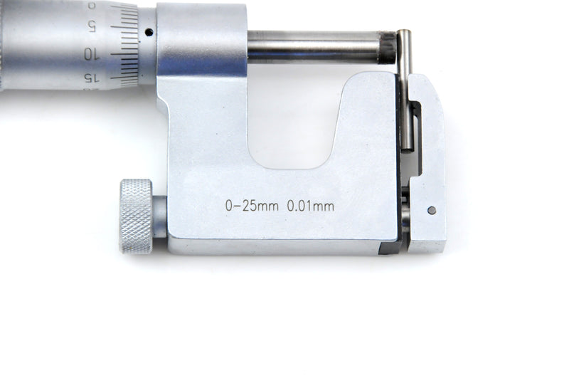 INTERCHANGEABLE ANVIL MICROMETER - INSIZE 3262-25A 0-25mm