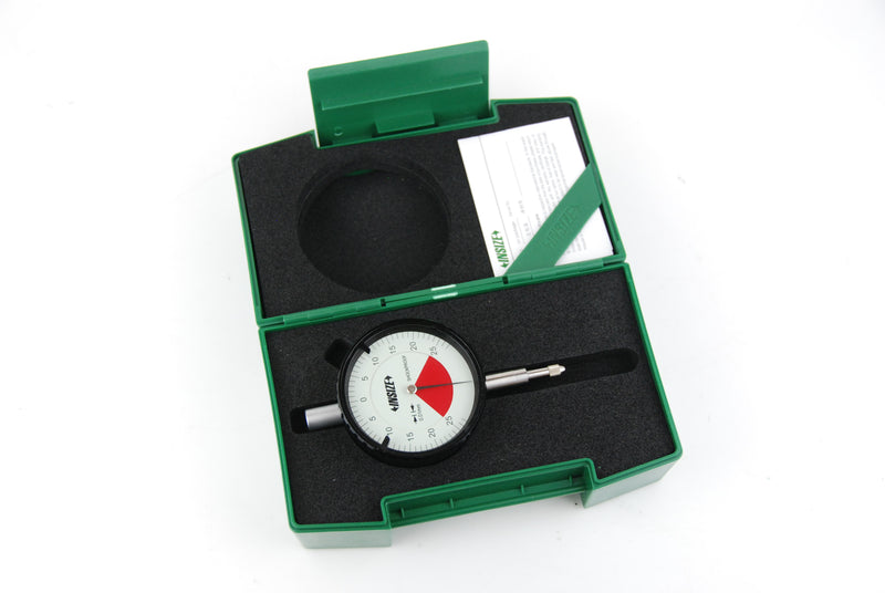 Insize 2316-05 <Br>  0.5Mm Lug Backed One Revolution Dial Indicator