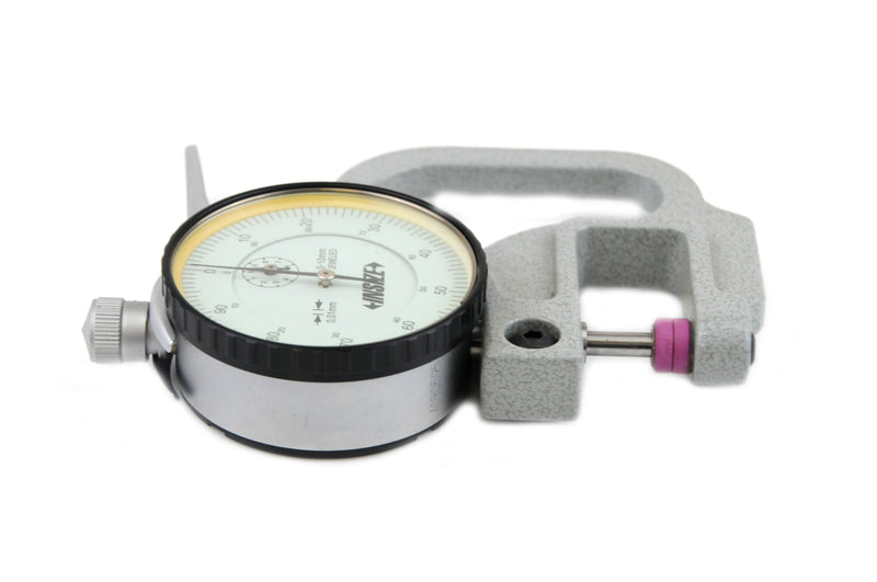 Insize 2364-10<Br> 0 - 10Mm Thickness Gauge With Flat Tips