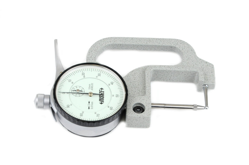 THICKNESS GAUGE | 0 - 10mm x 0.01mm | Tube Type | INSIZE 2367-10A