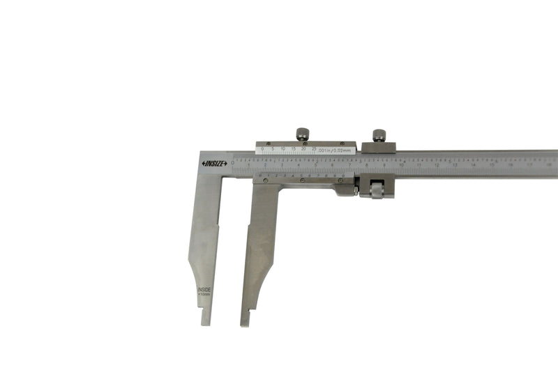 LONG JAW VERNIER CALIPER - INSIZE 1215-392 0-300mm / 0-12""