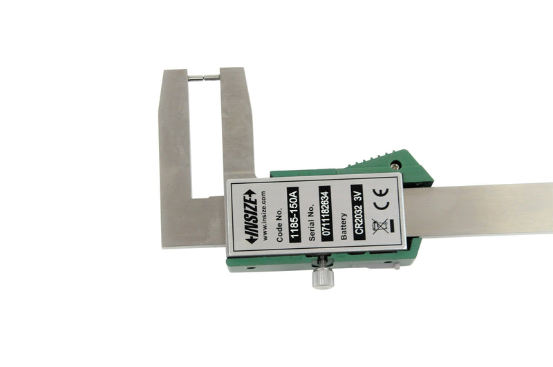 DIGITAL OUTSIDE POINT CALIPER - INSIZE 1185-150A 0-150mm / 0-6""