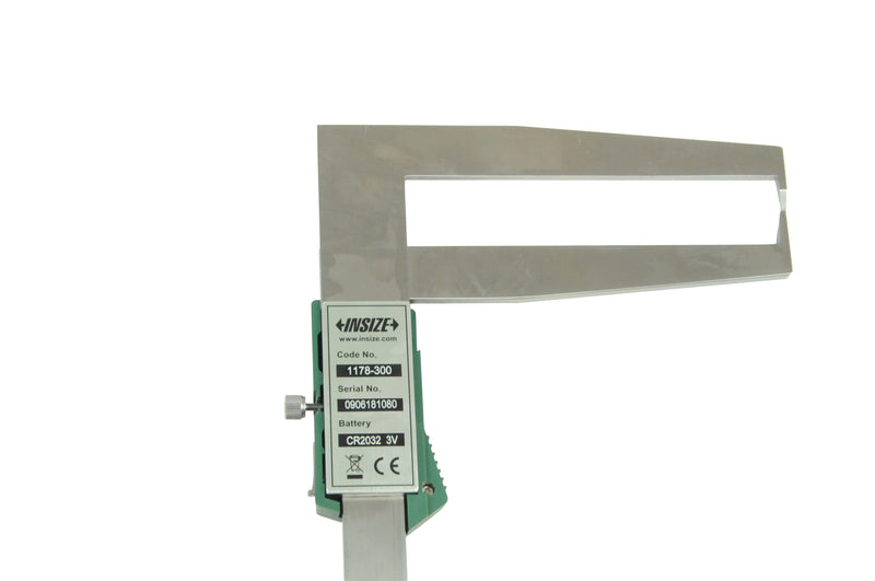 DIGITAL INSIDE GROOVE CALIPER - INSIZE 1178-300 25-300mm / 1.18-12""