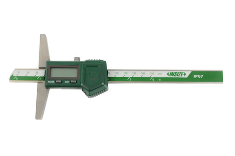 "INSIZE 1149-150 <br>0 - 150MM/0 - 6"" DIGITAL DEPTH GAUGE"