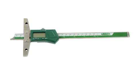 "INSIZE 1147-200 <br> 0 - 200MM/0 - 8"" DIGITAL DEPTH GAGE"