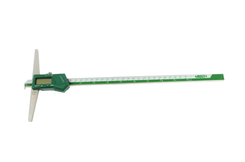 "INSIZE 1142-300A<br> 0 - 300MM/0 - 12"" DIGITAL HOOK DEPTH GAGE"