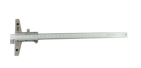 insize 1248-200 vernier hook depth caliper