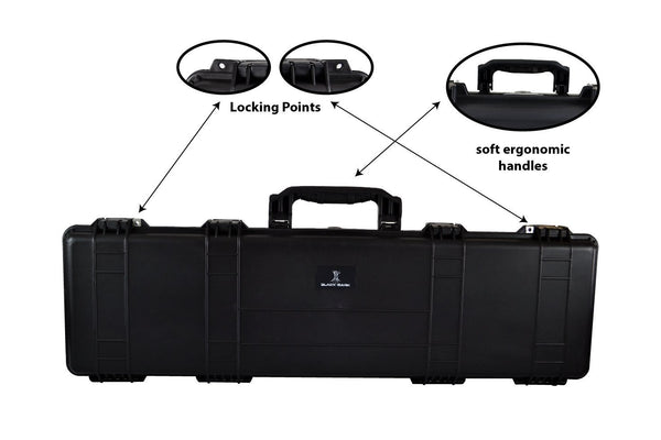 Black Bark Carry Case BB-5852-Gun Case