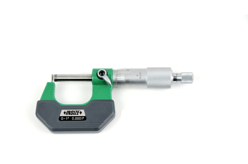 CYLINDRICAL ANVIL MICROMETER - INSIZE 3261-1 0-1""