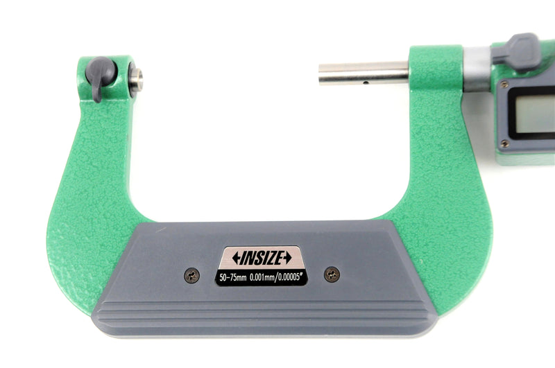 DIGITAL SCREW THREAD MICROMETER - INSIZE 3581-75A 50-75mm / 2-3""