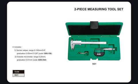 INSIZE 5021 <br>2PC MEASURING TOOL SET