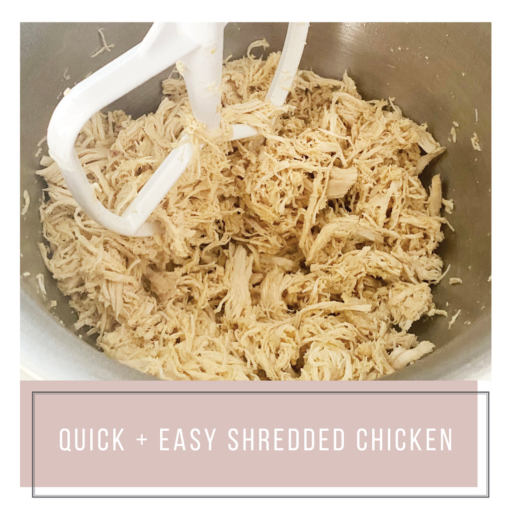Quick + Easy Shredded Chicken