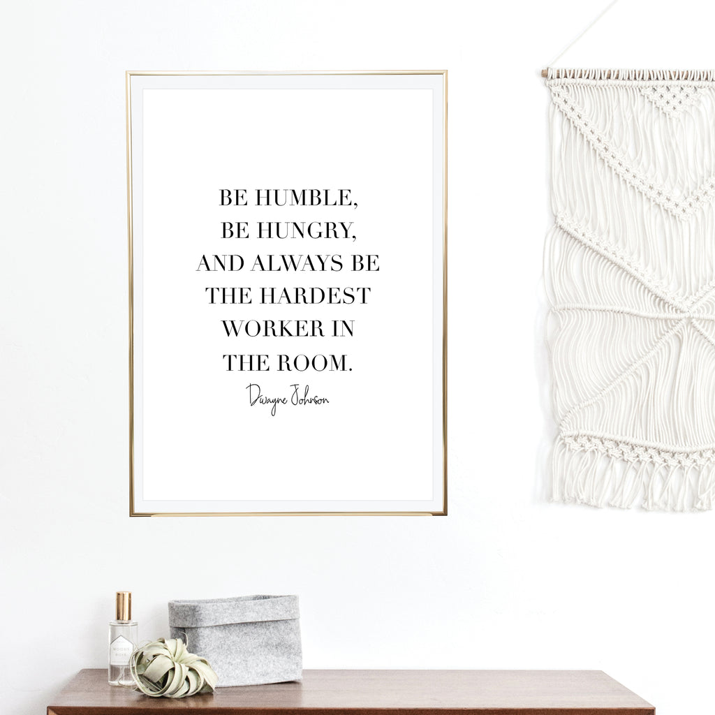 Inspirational + Motivational Art Prints